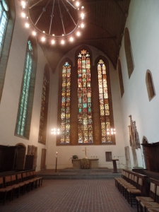 The is the Monastery Church where Martin Luther joined and preached his first sermon as a Monk.
