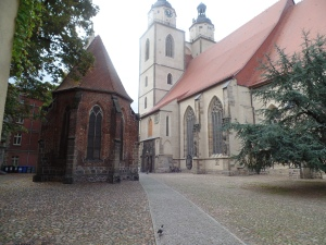 Corpus Christi Chapel located next to the Stadtskirche in Wittenberg Germany